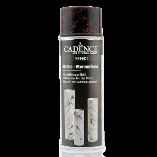 Cadence - Cadence Kırmızı Silver Sprey Mermer Efekti 200 ML