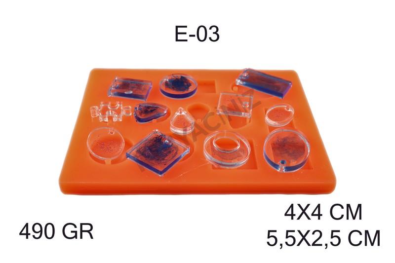 Kimyacınız - Epoksi Silikon Kalıp E-03