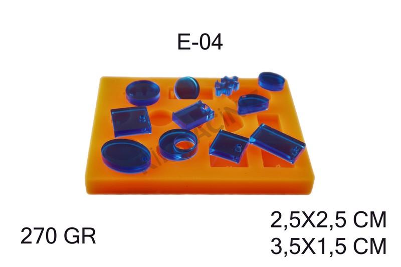 Kimyacınız - Epoksi Silikon Kalıp E-04
