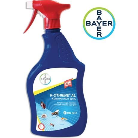 kimyaciniz - Bayer K-othrine Al 500 Ml Böcek İlacı