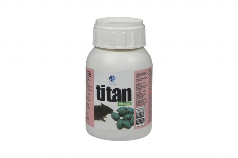 Kimyacınız - Titan Wax Block Badem Fare Zehiri 100 GR