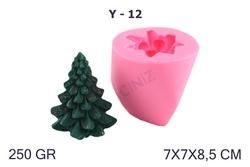 Kimyacınız - Yılbaşı Çam Ağacı - Noel Baba Silikon Kalıbı Y-12