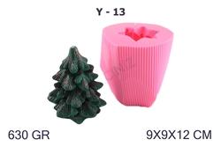 Kimyacınız - Yılbaşı Çam Ağacı - Noel Baba Silikon Kalıbı Y-13